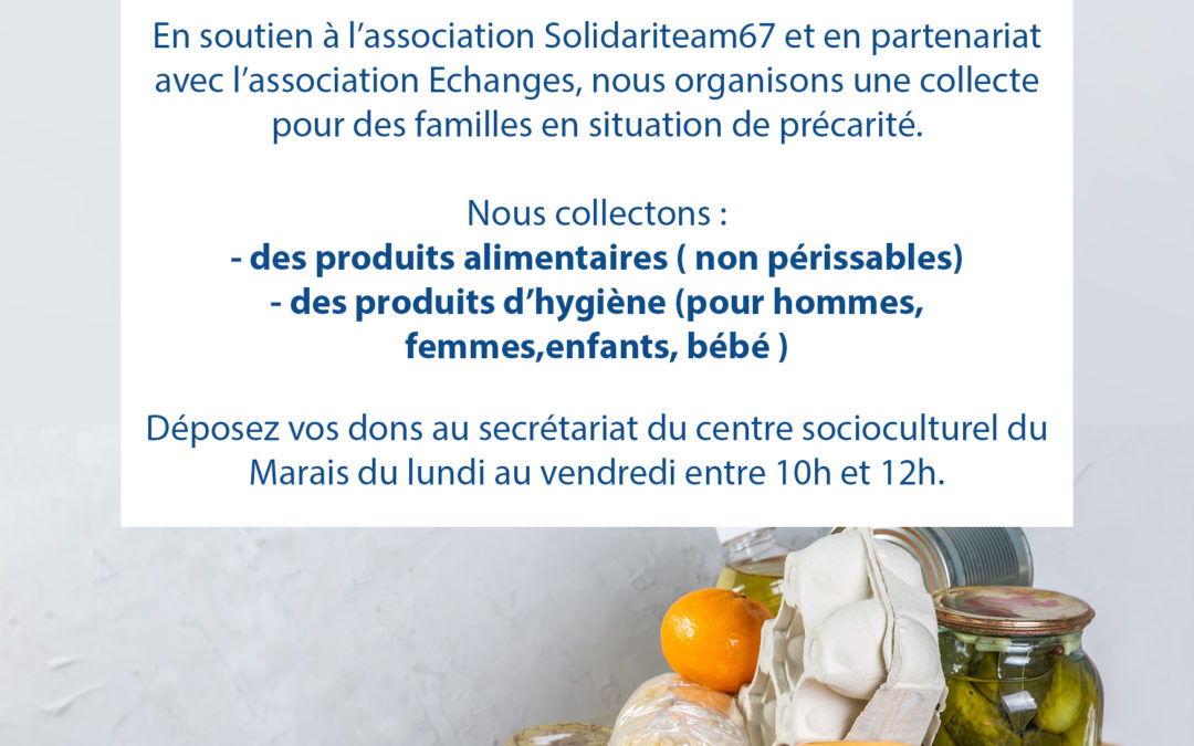 Collecte solidaire